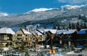 Whistler village, Vancouver